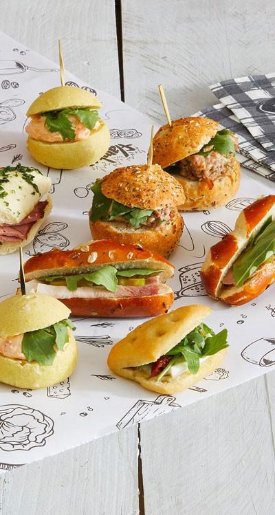 Les minis sandwichs