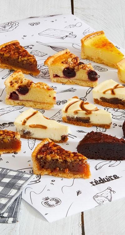 Les desserts à partager