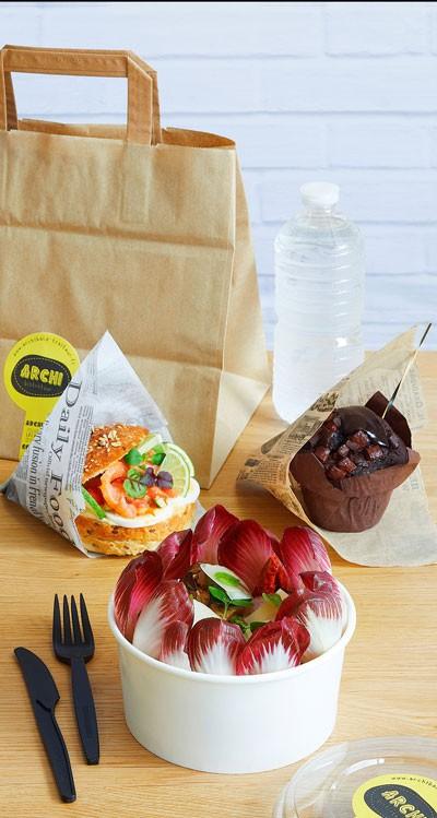 Salade & Petit Sandwich